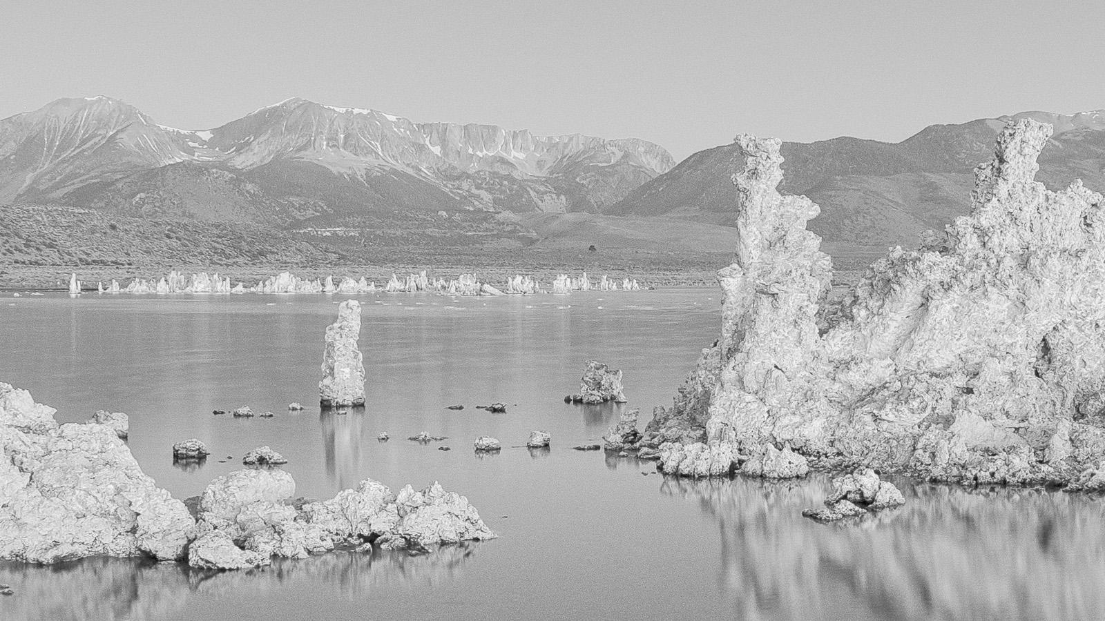 Mono Lake California - Tufa detail. California Black & White Fine Art Landscape Photography