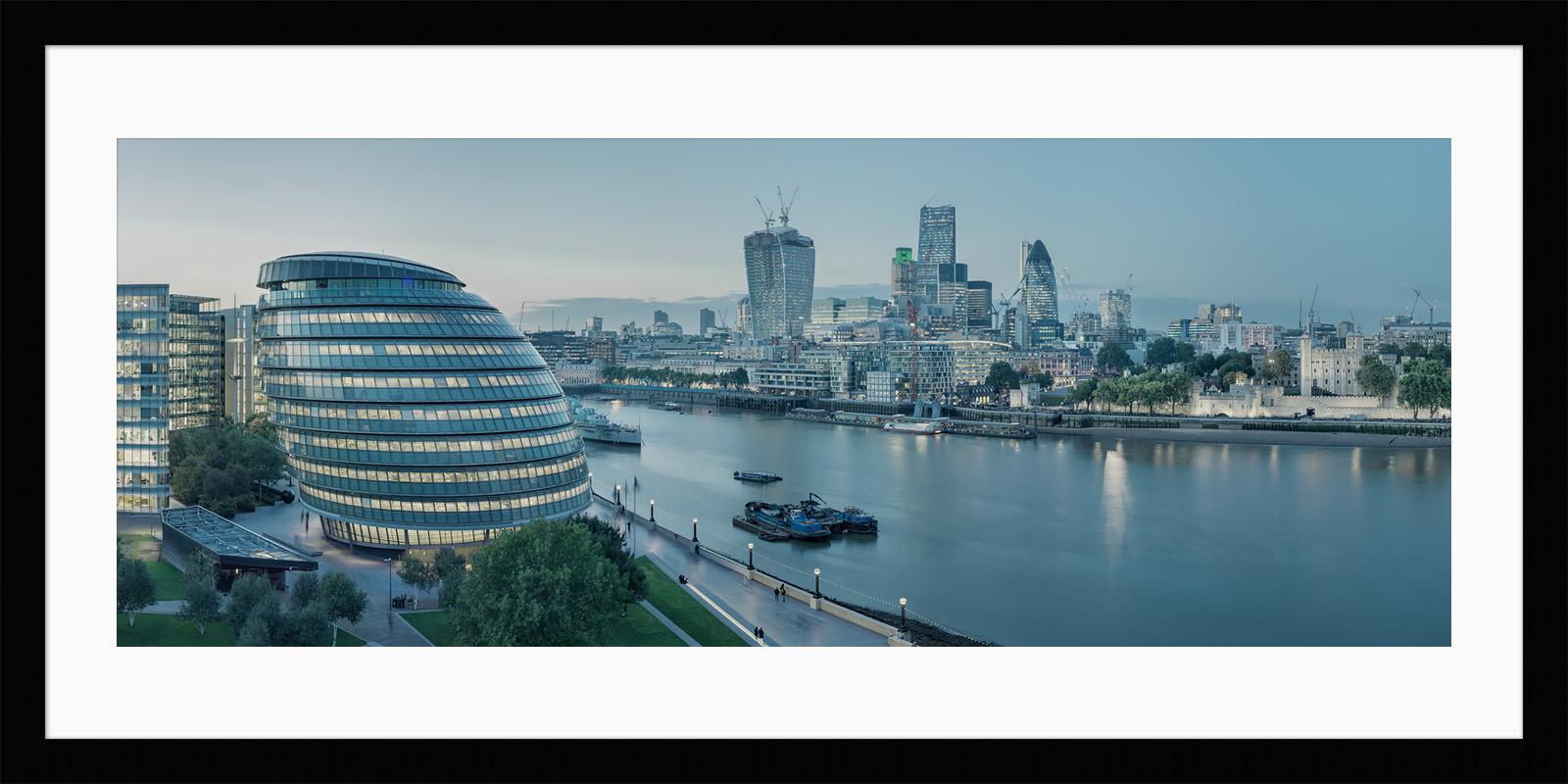 Constant Thames - Framed London Fine Art Photograph