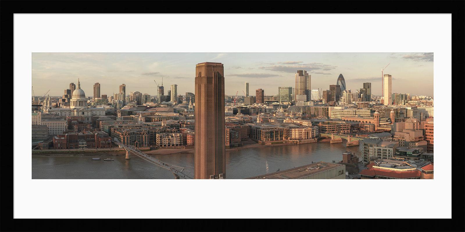 London Stilled - Framed London Fine Art Print