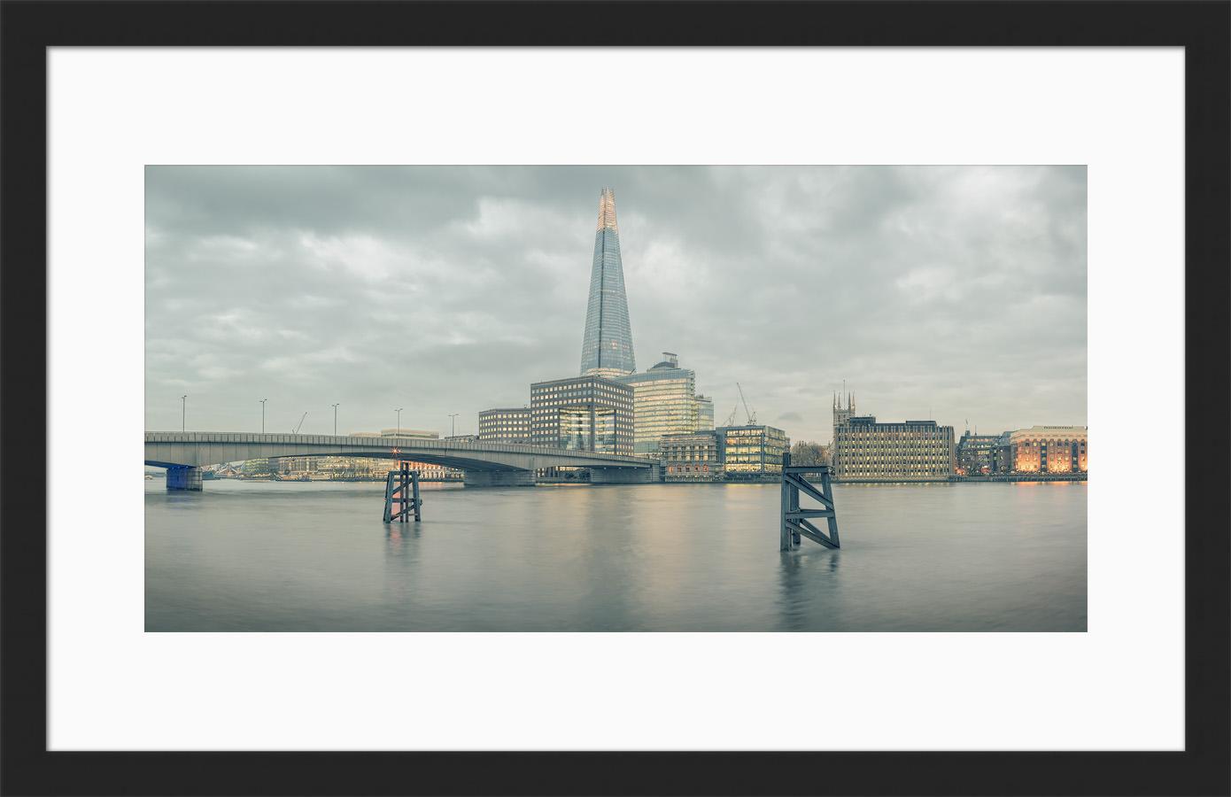 Planate London - Framed London Print