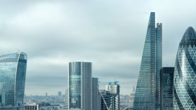 Silvered City - City of London skyline high resolution Fine Art Photo Print..