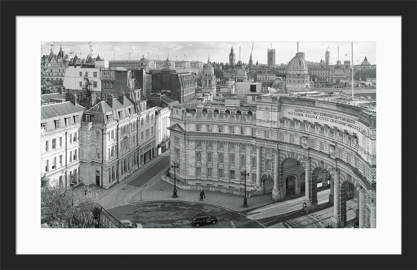 Admiralty Arch Day - Framed London Black & White Fine Art Photograph