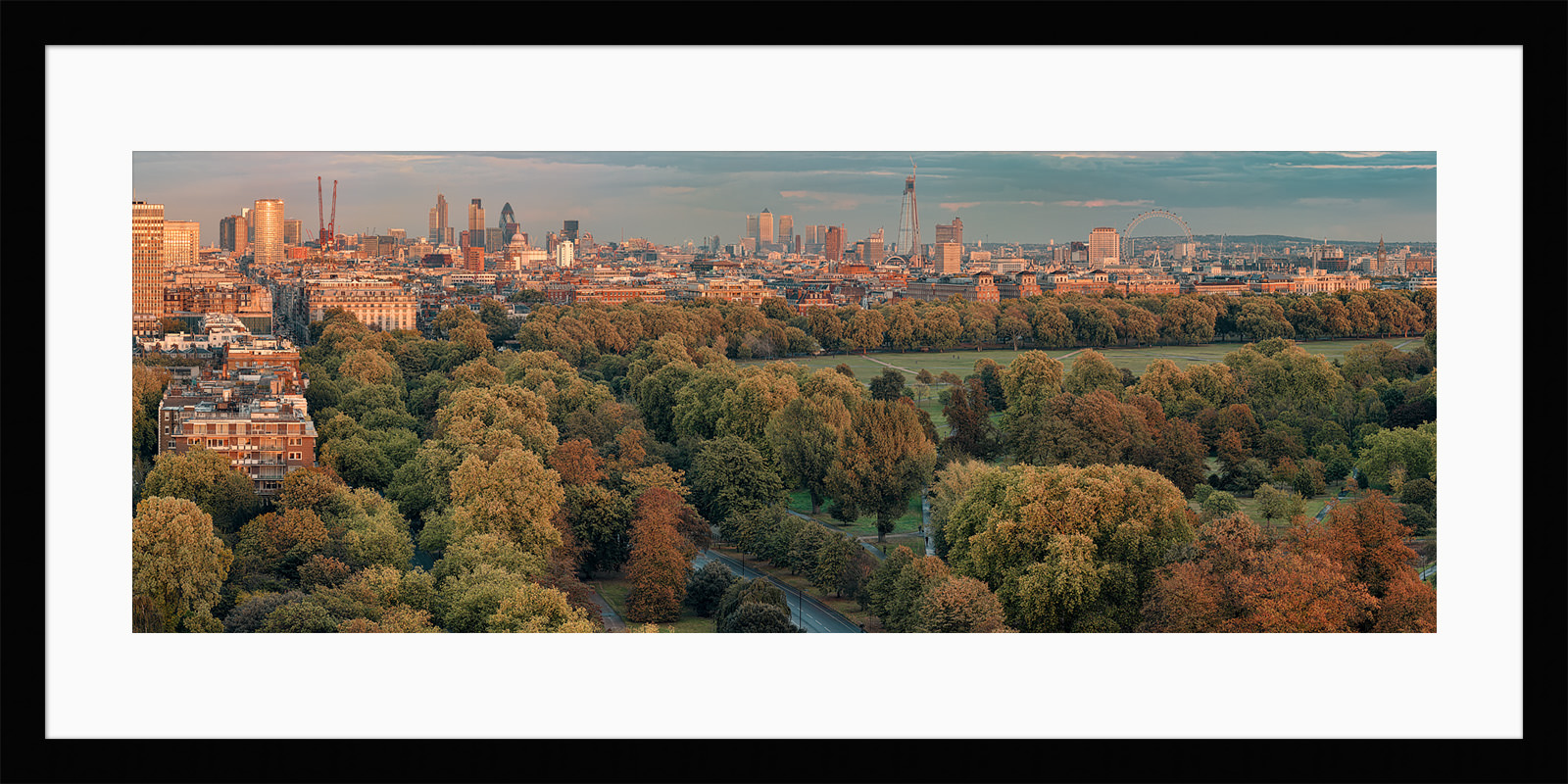 Hyde Park 2011 - Framed Photo Prints of London