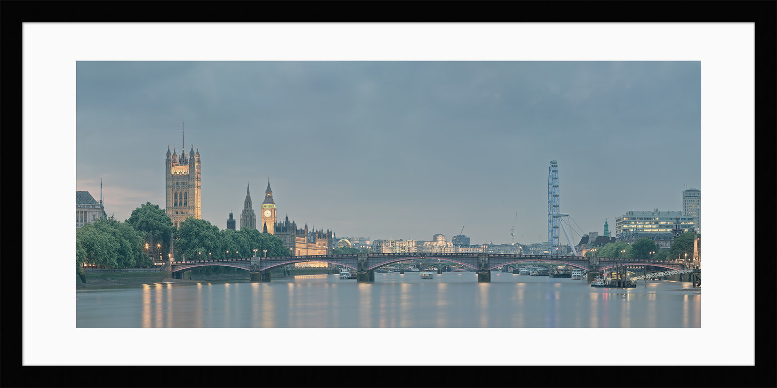 Lambeth Bridge - Framed London Photo