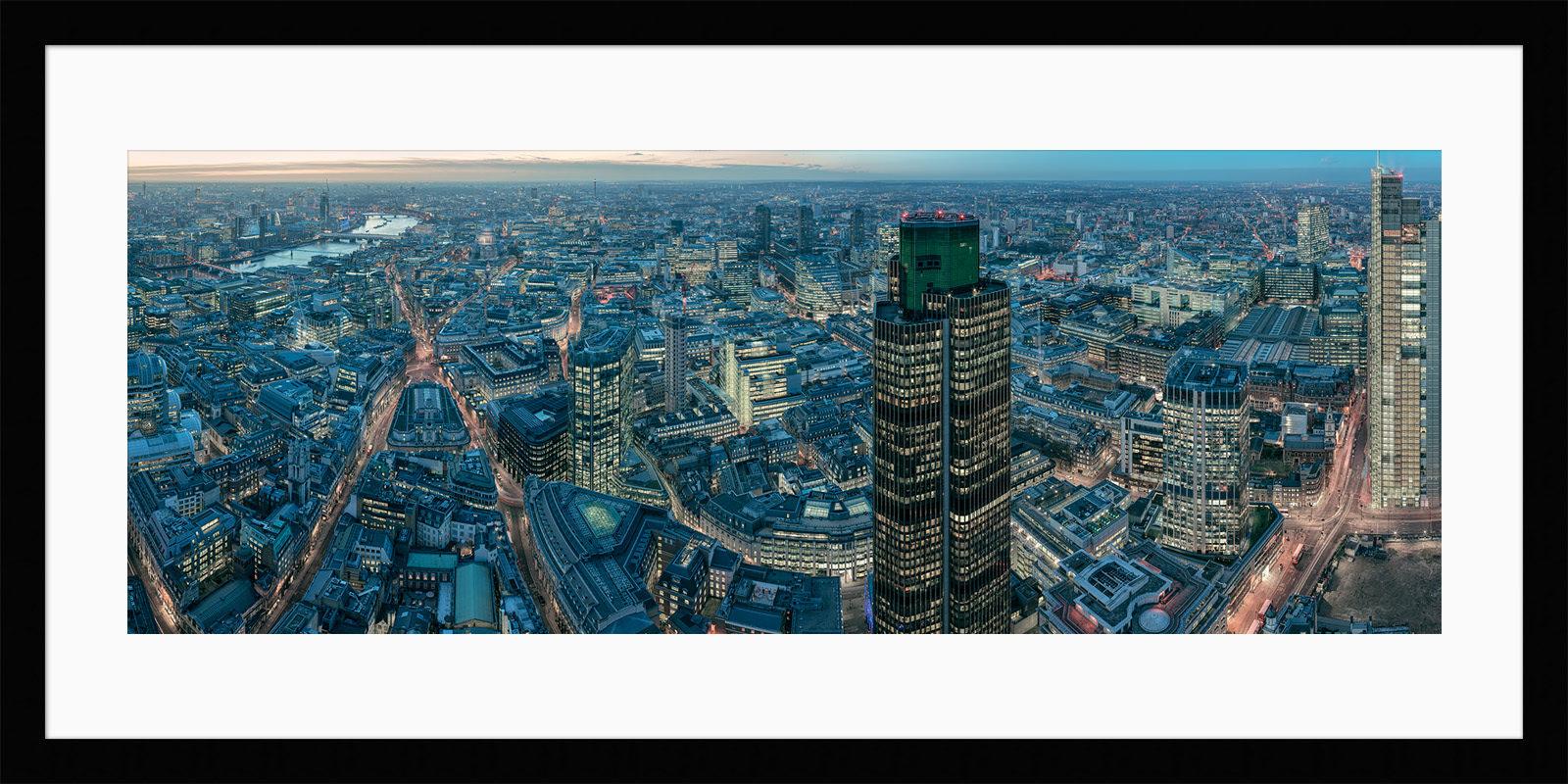 Leadenhall Building Night - Framed London City Fine Art Photo