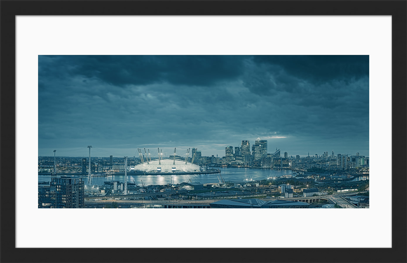 London from Greenwich - Framed Fine Art Print