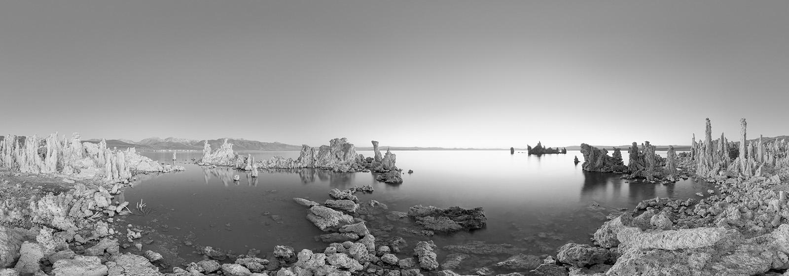 Mono Lake Acrylic - California Black & White Fine Art Photo Print