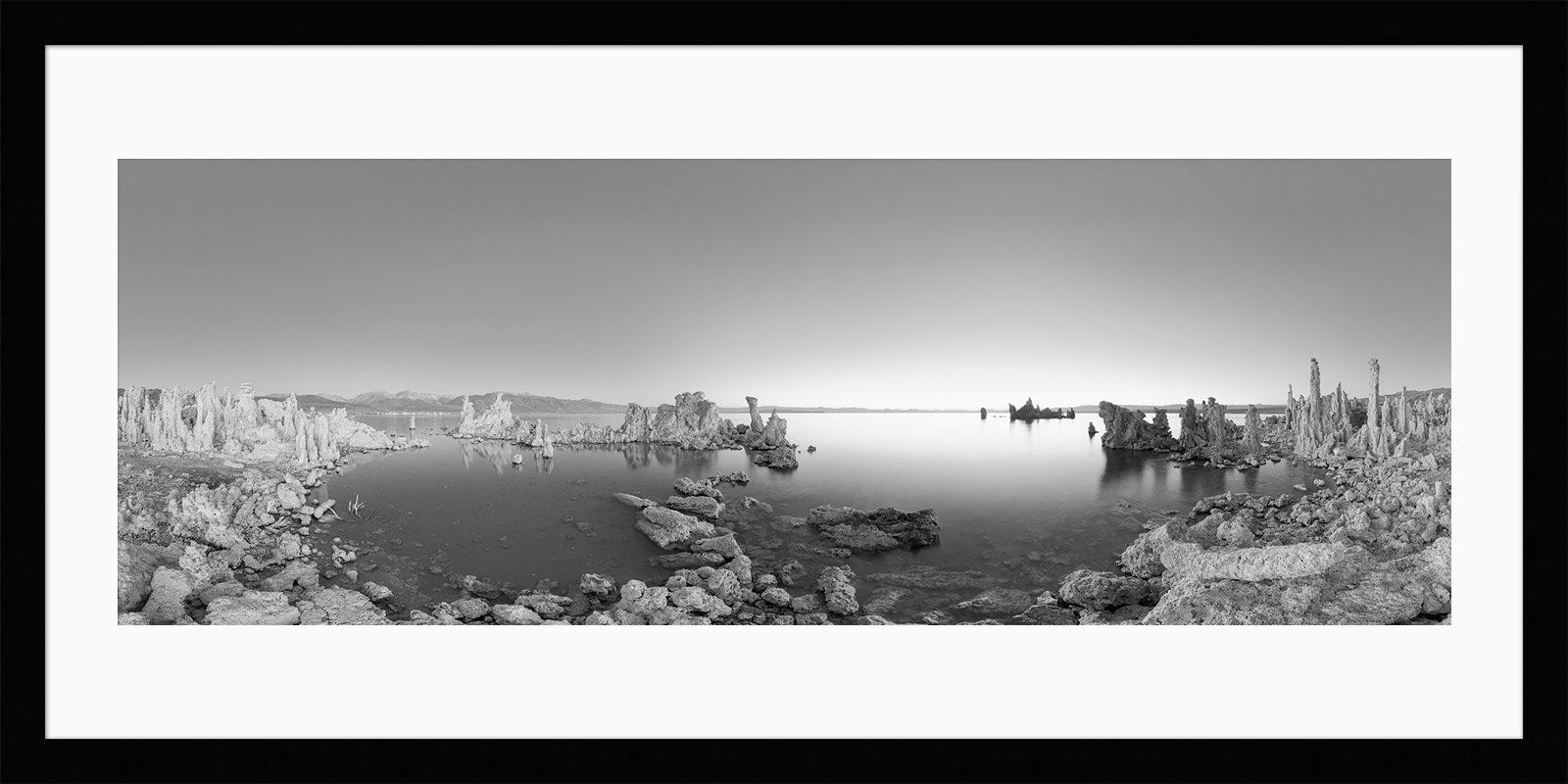 Mono Lake Framed - California Black & White Fine Art Landscape Photography
