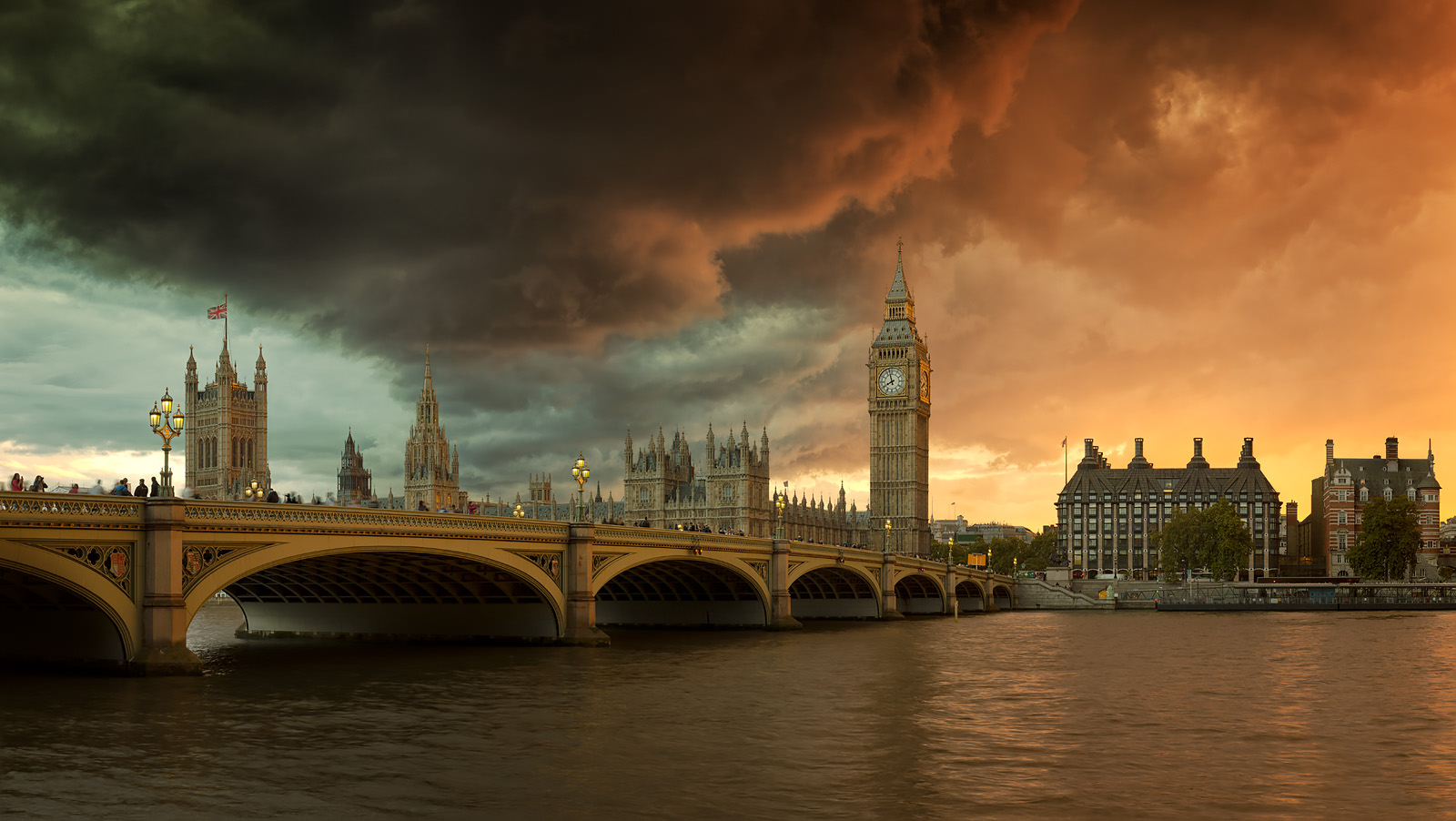 Palace of Westminster Acrylic - London Fine Art Photo
