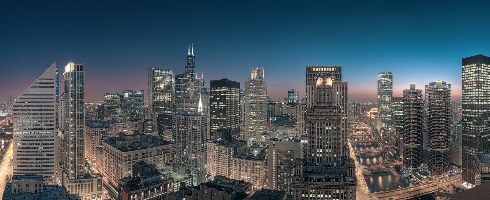 Sears Tower Skyline - Chicago High Resolution Cityscape Photo Print