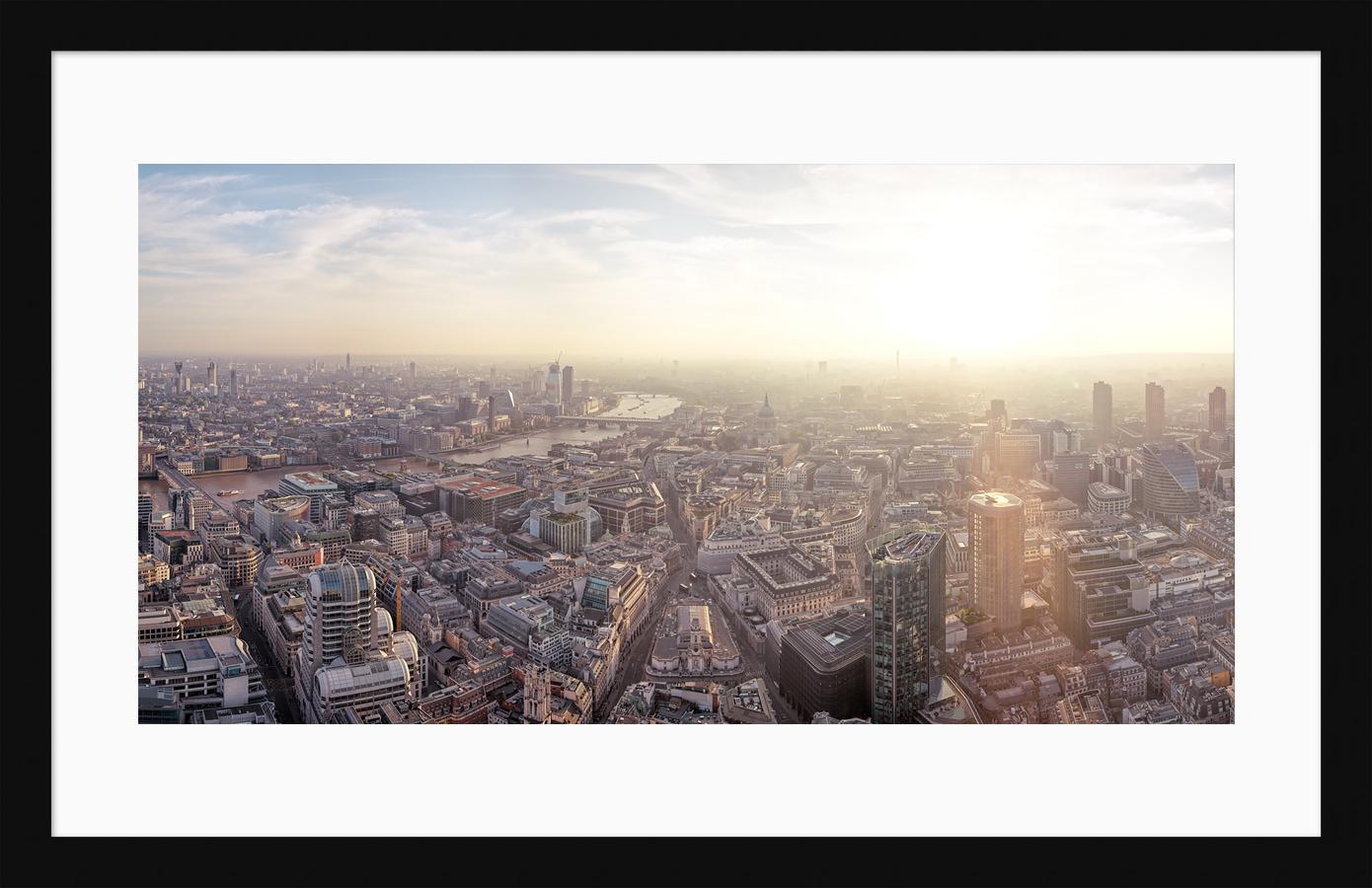 Sundown Over West London - Framed Fine Art Print
