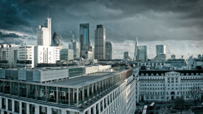 The City From Finsbury Square - High Resolution London Fine Art Photographic Print