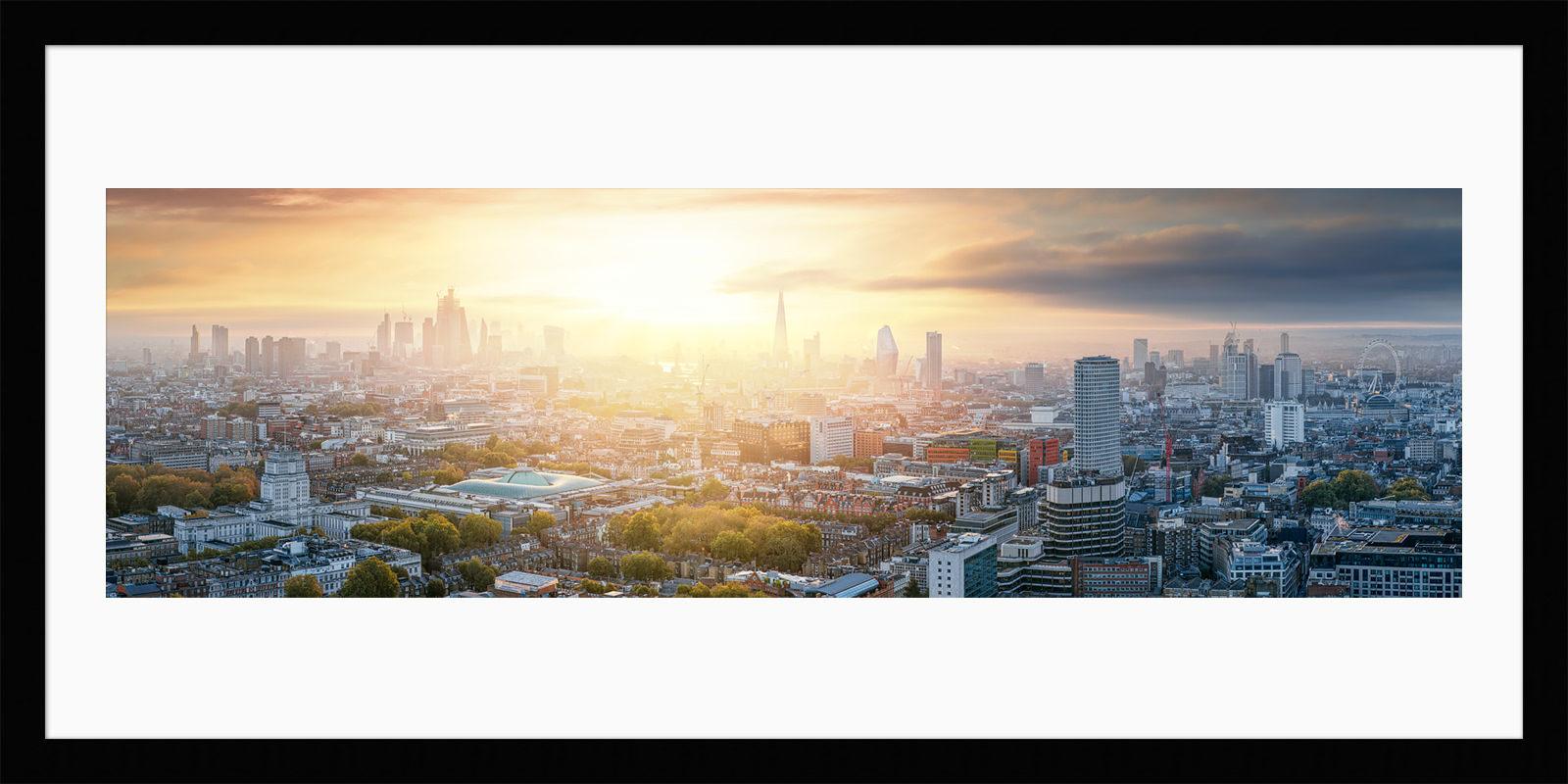 London Begins - Framed Fine Art Print